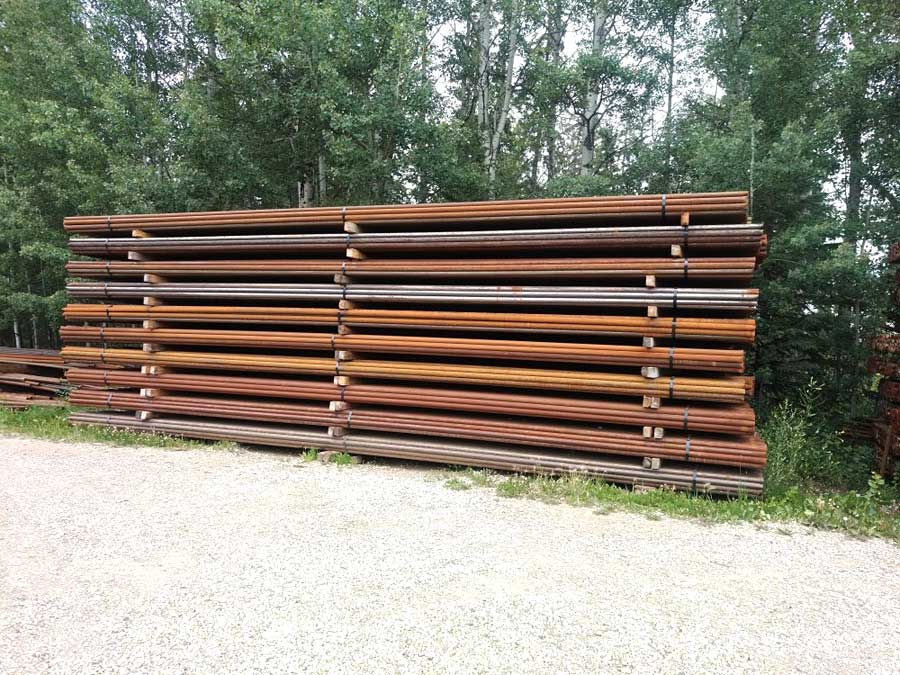 Coil Tubing Fence Material